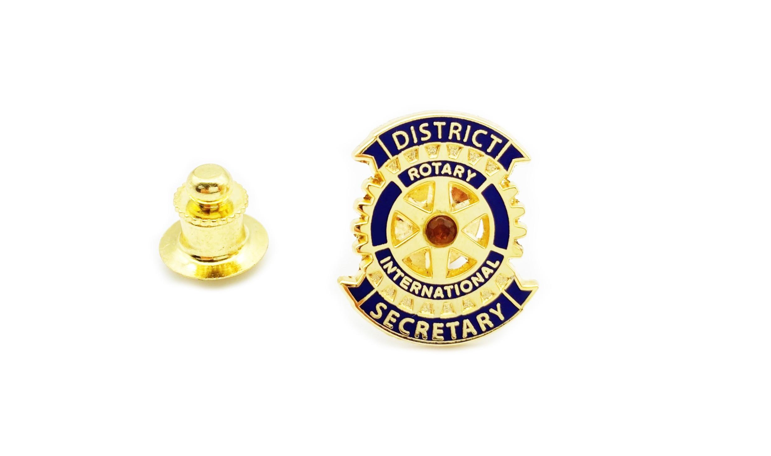 Rotary Distrikt Sekretär Pin