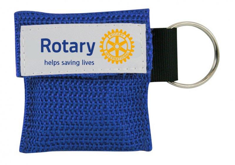 Rotary Erste Hilfe Beatmungstuch
