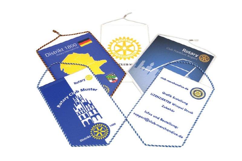 Rotaract Club- / Distrikt Wimpel
