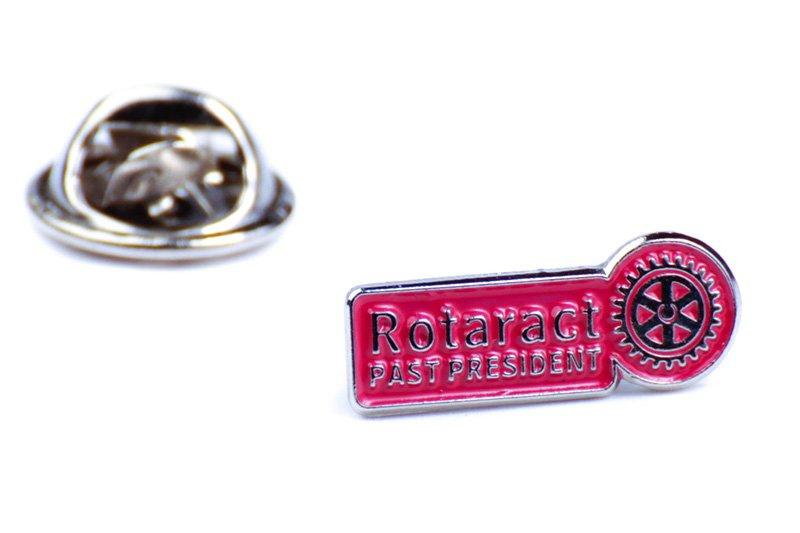 Rotaract Pin -Past President- 6mm
