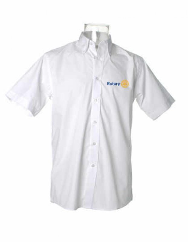 Rotary Oxford Oberhemd -kurzarm-