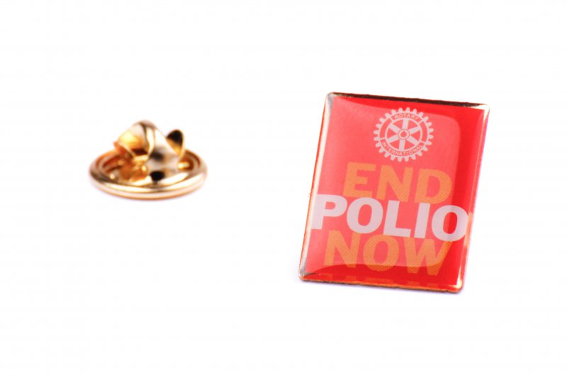 END POLIO NOW Pin