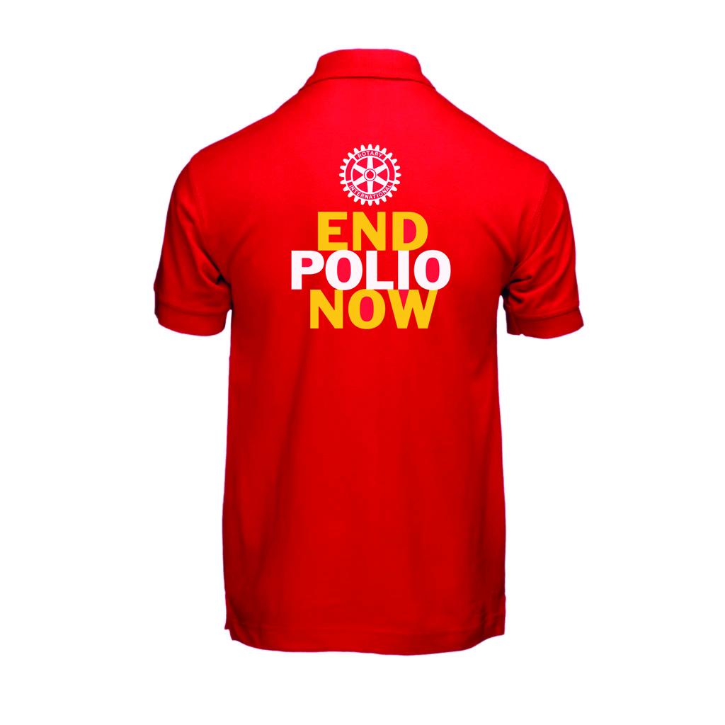 End Polio Now Polo Shirt