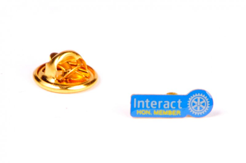 Interact Pin Hon. Member -neues Logo-