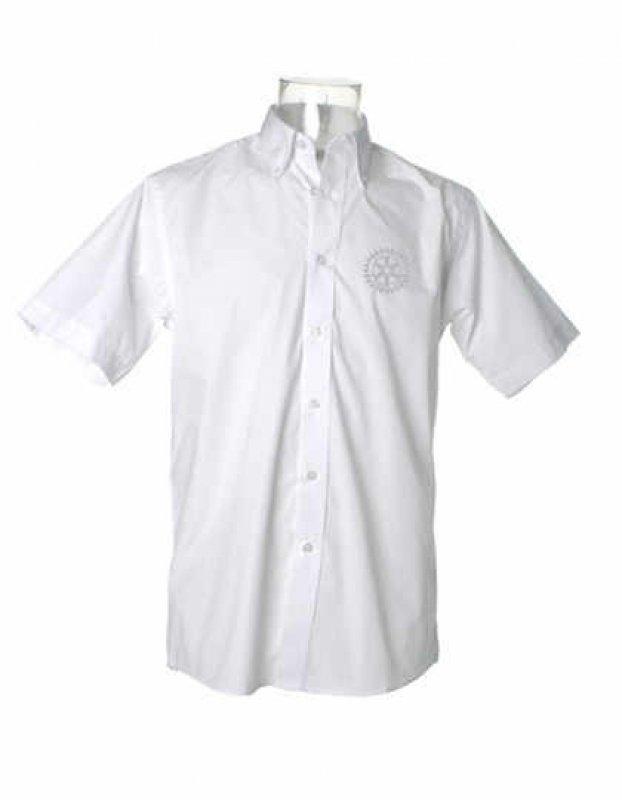 Rotary Oberhemd (Ton-in-Ton) -kurzarm-