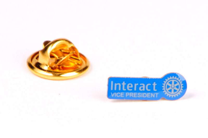 Interact Pin Vize Präsident -neues Logo-