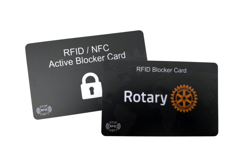 RFID-Blocker-Karte