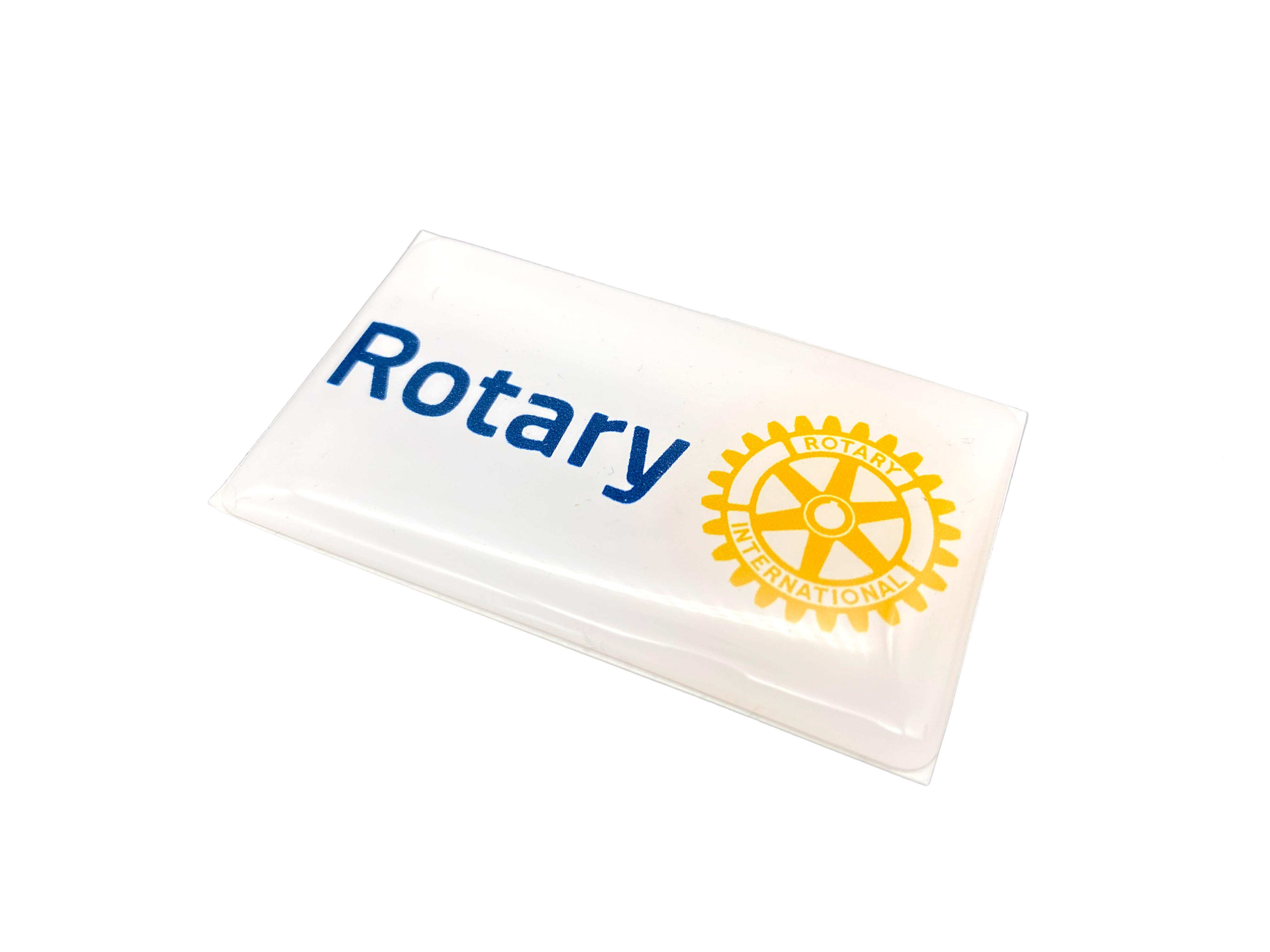 Rotary 3D-Sticker