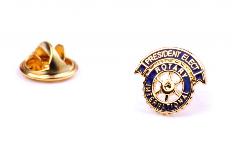 Präsident Elect Anstecker