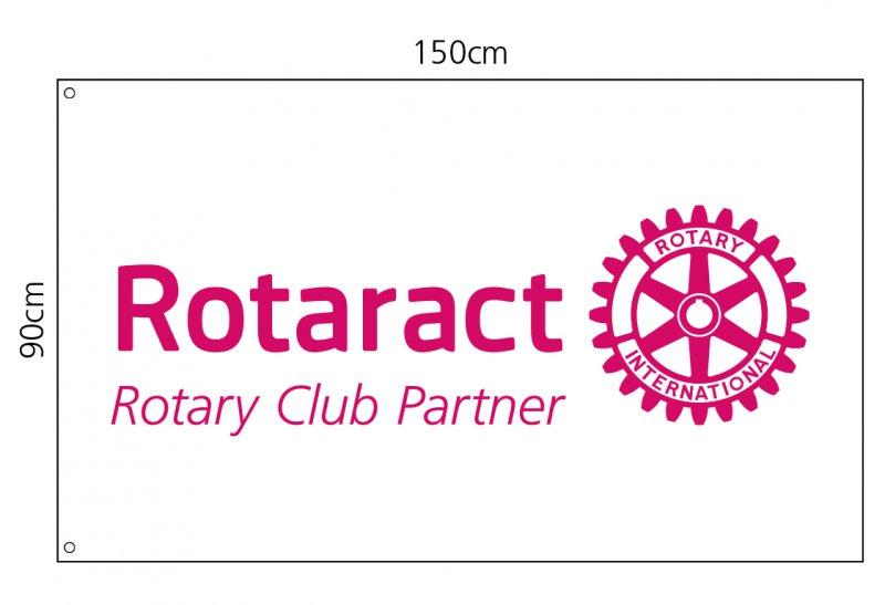 Rotaract Flagge (Fahne) 150x90 cm