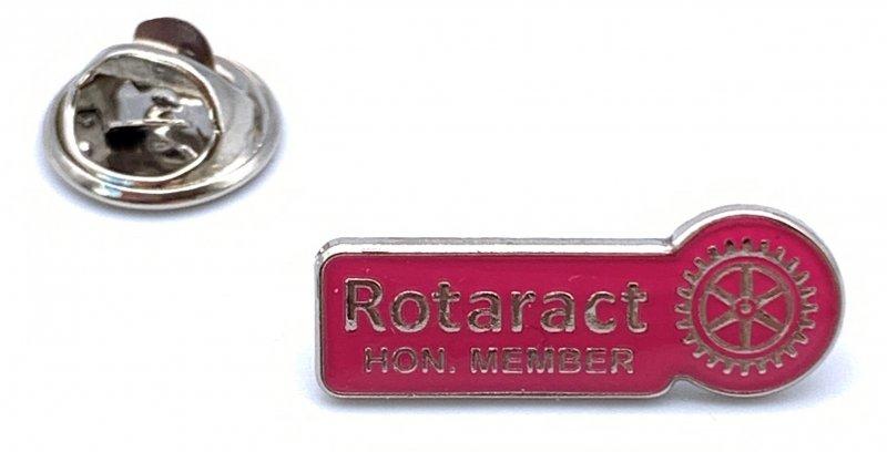 Rotaract Pin -Hon. Member- 9mm