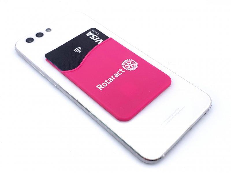 Rotaract Handy-Kartenhalterung