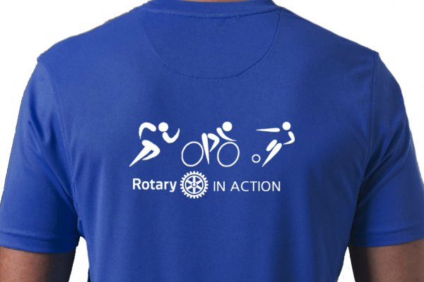 Sportshirt -Rotary in Action-