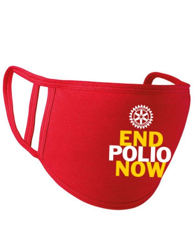 End Polio Now Mund- und Nasenmaske