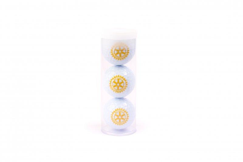 Rotary Golfbälle Geschenk Set