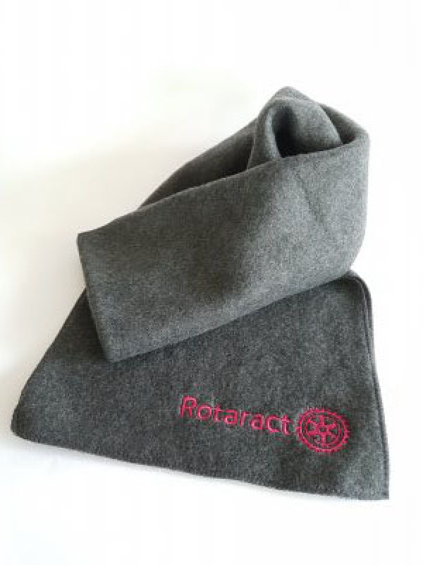 Rotaract Schal Fleece