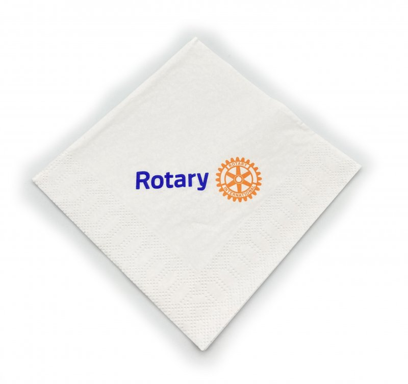 Rotary Cocktail Servietten