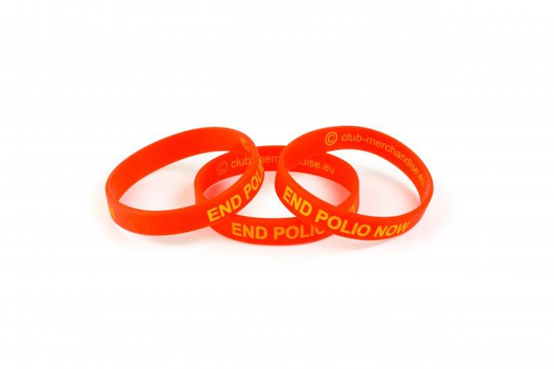 End Polio Now-Silikonarmband