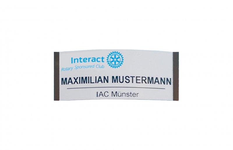 Interact Standard Namensschild