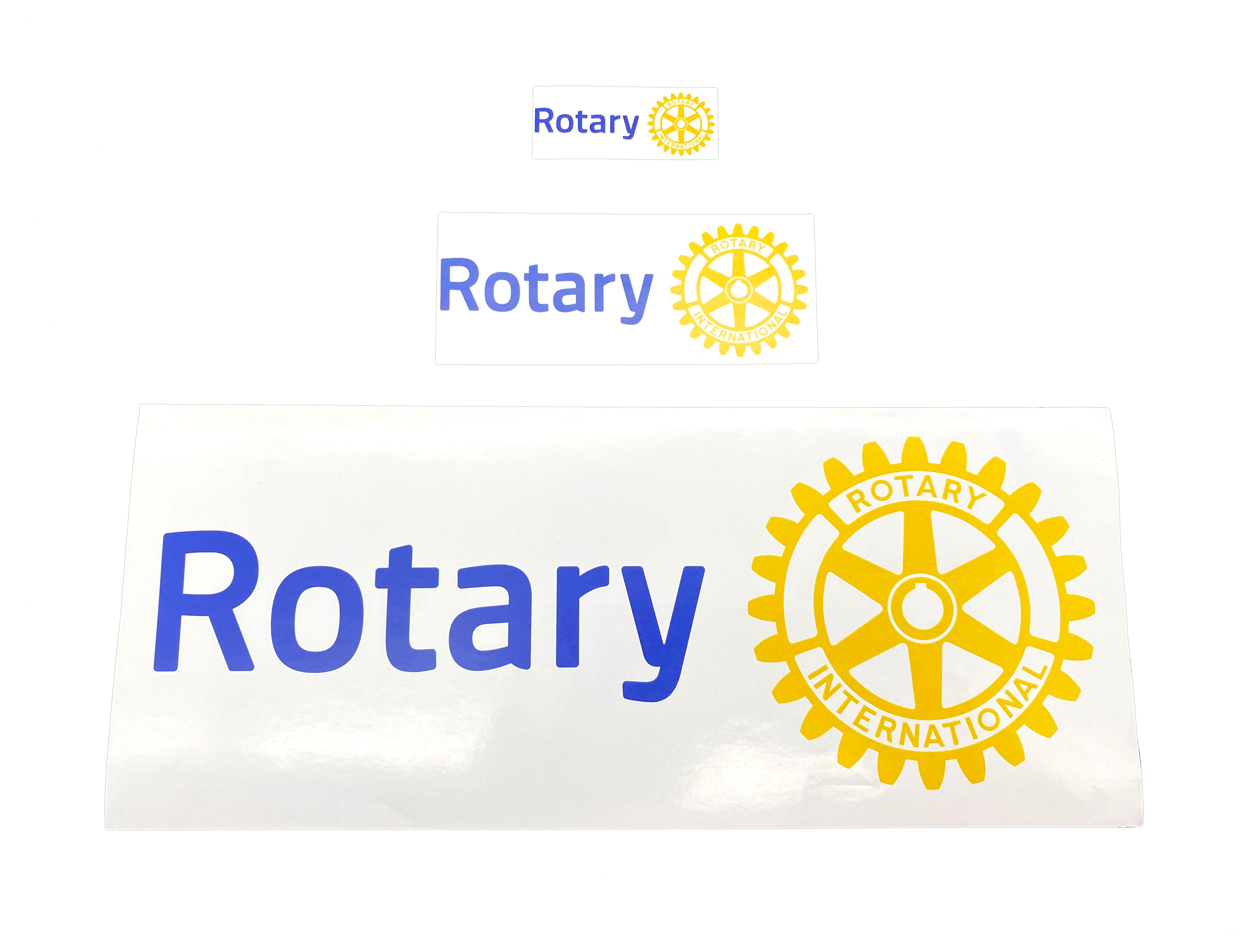 Rotary Aufkleber Rechteckig