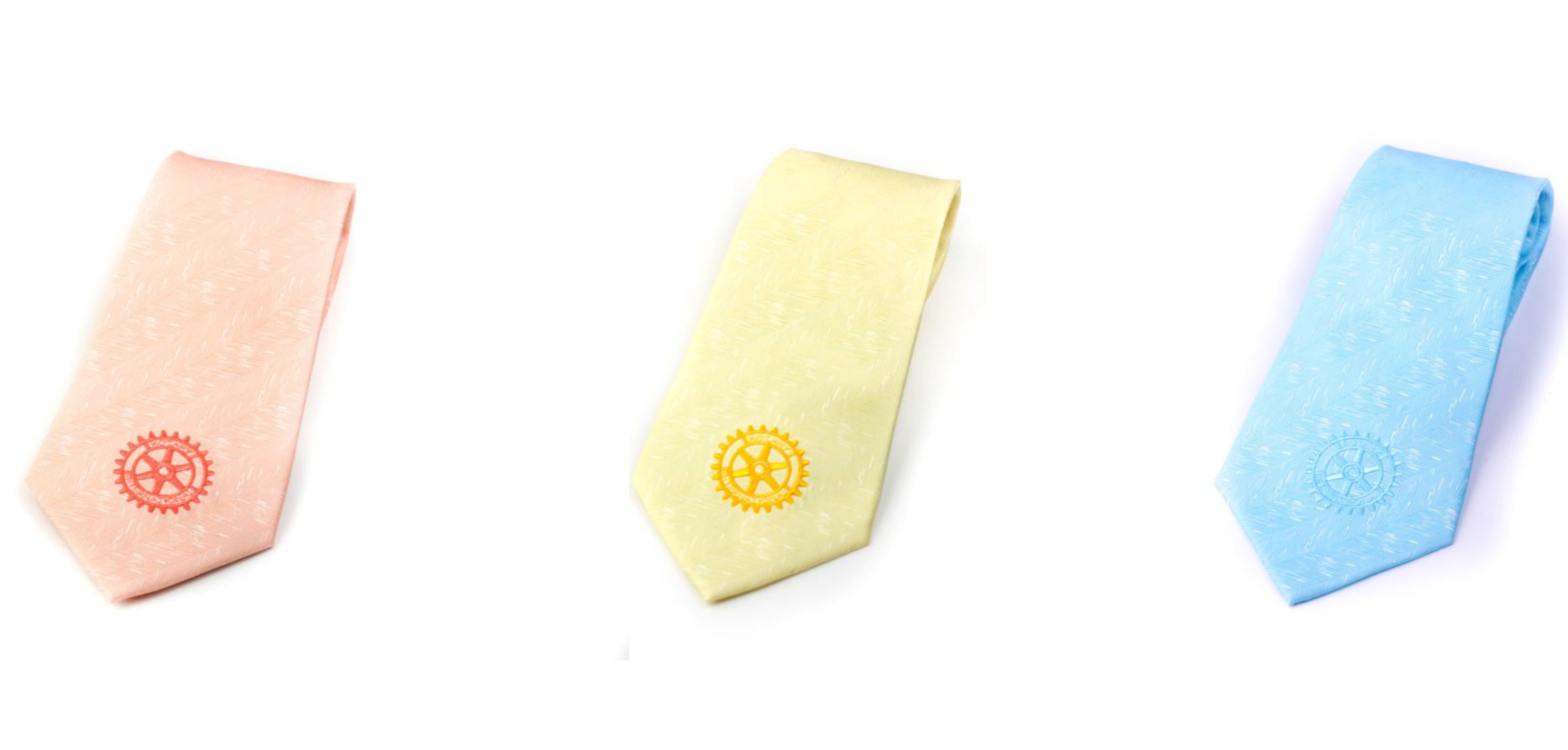 Rotary Krawatte -Pastell Elegance-