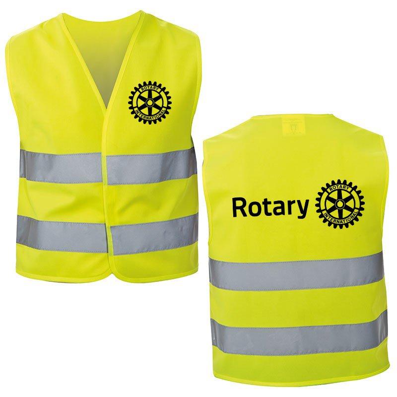 Rotary Helfer Weste (Warnweste)