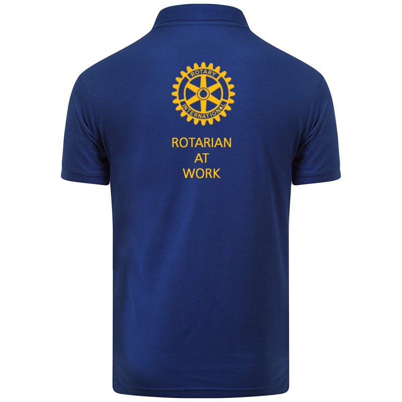 Rotarian at work Poloshirt