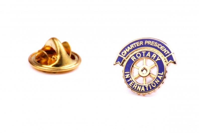Charter Präsident Anstecker