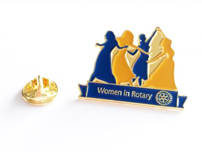"Anstecker ""Women in Rotary"""