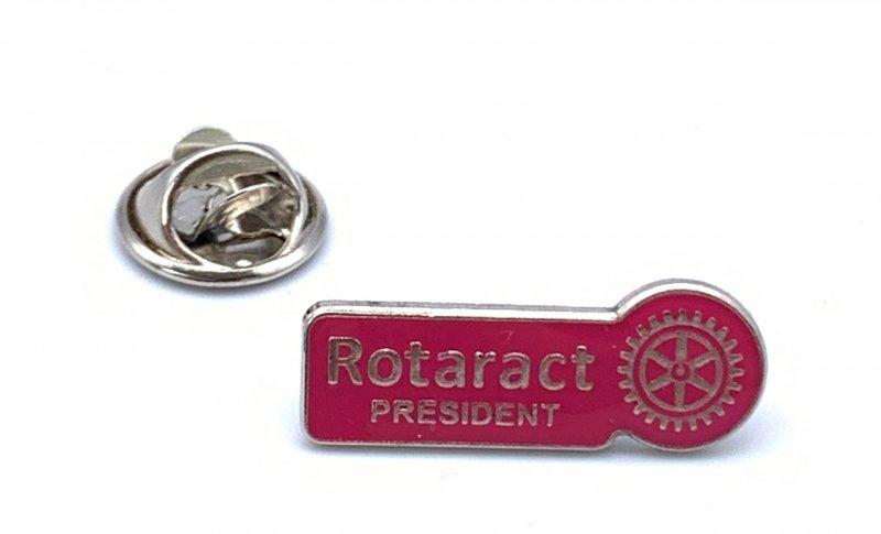 Rotaract Pin -Präsident- 9mm