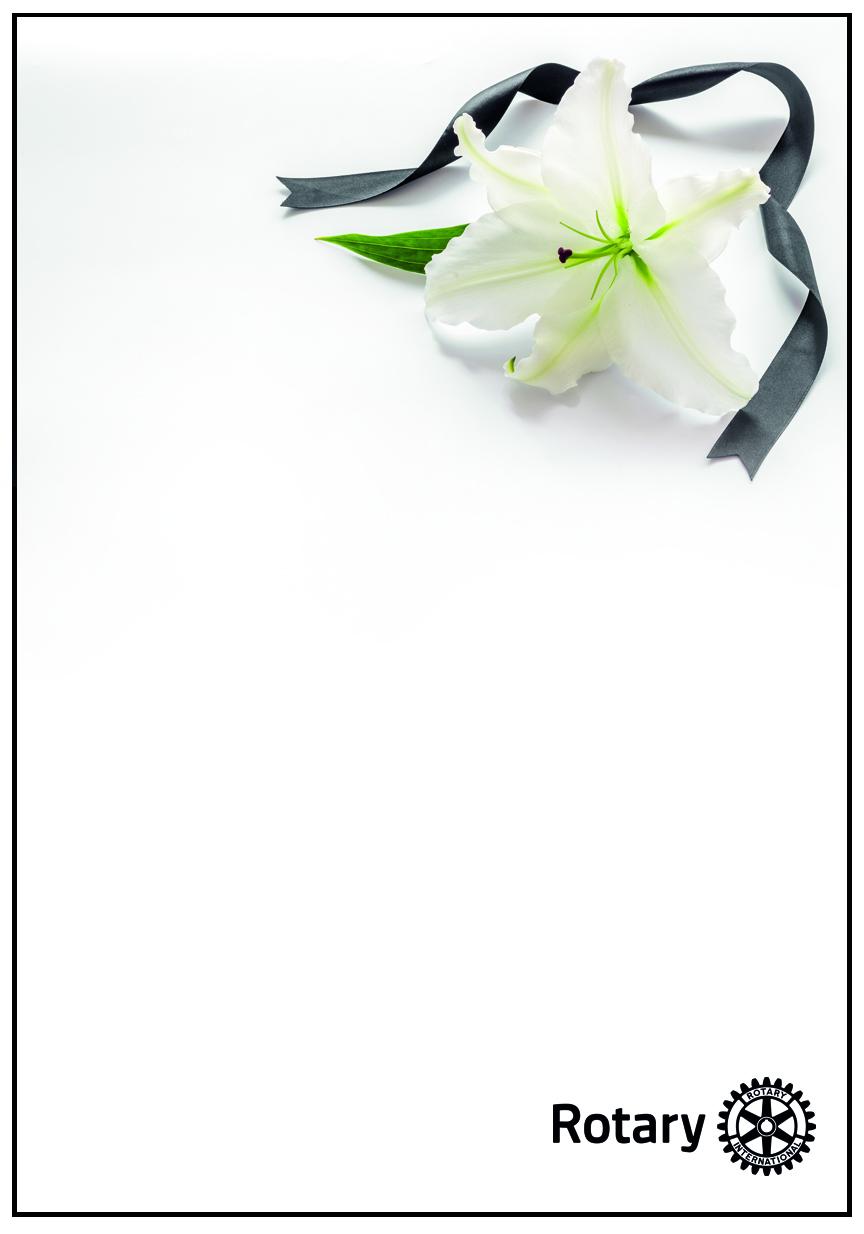 Kondolenzkarten mit Umschlag  Motiv 01 / 3 Stück