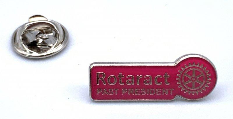 Rotaract Pin -Past Präsident- 9mm