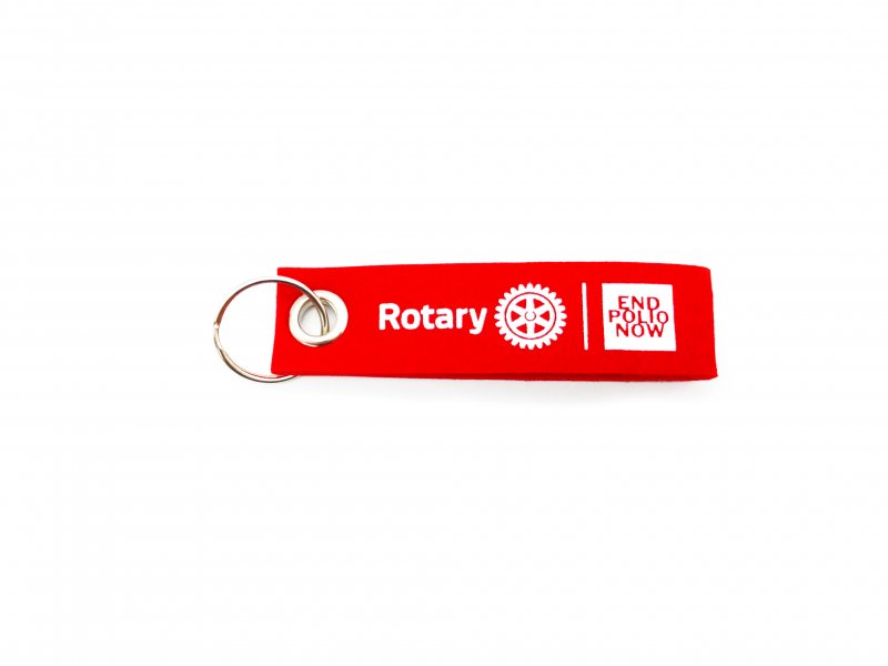 End Polio Now Anhänger inkl. 5€ Spendenbeitrag