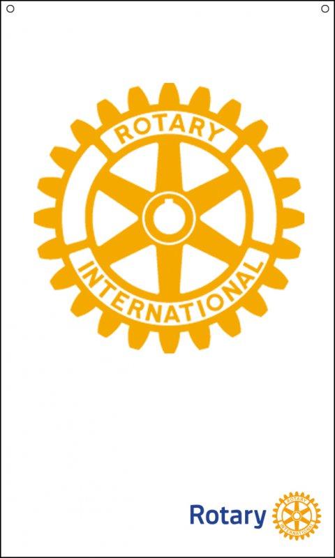 Wandbanner Rotary (150x90cm)