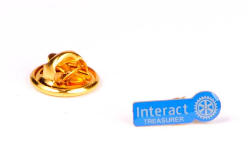 Interact Pin Schatzmeister -neues Logo-