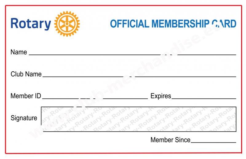 Mitgliedsausweis (Club-Nachbestellung)