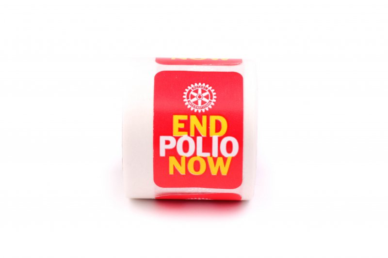 End Polio Now Sticker