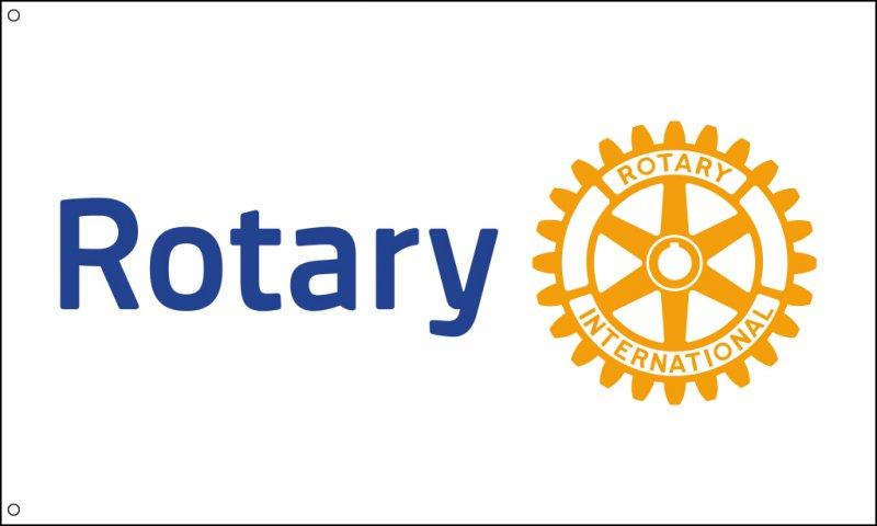 Rotary-Flagge (Fahne)