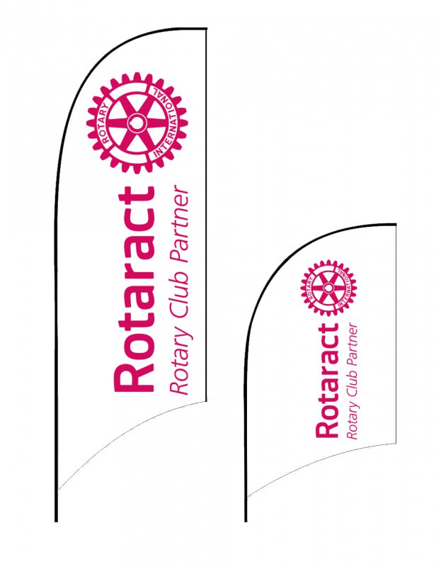 Rotaract Beachflag / Beachwing