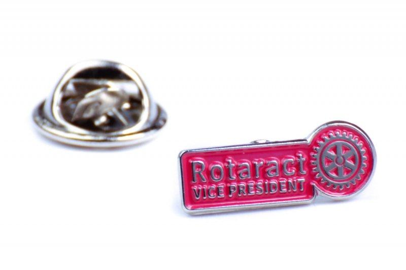Rotaract Pin -Vice Präsident- 6mm