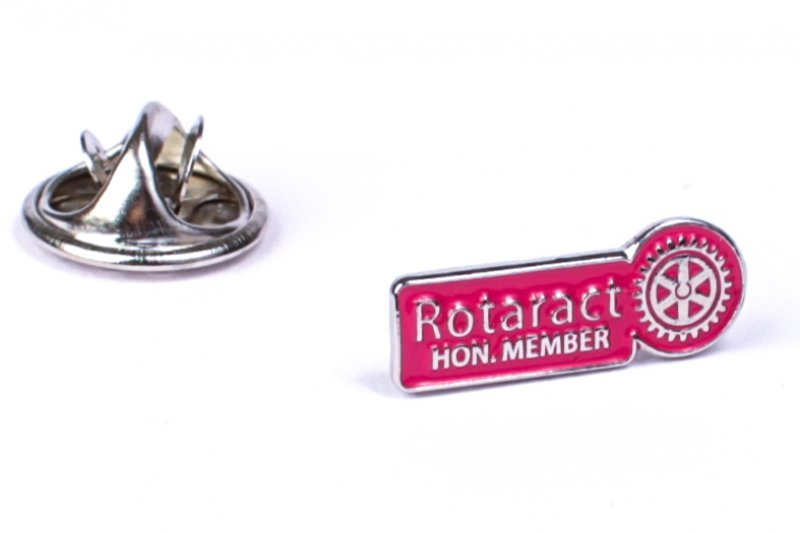 Rotaract Pin -Hon. Member- 6mm