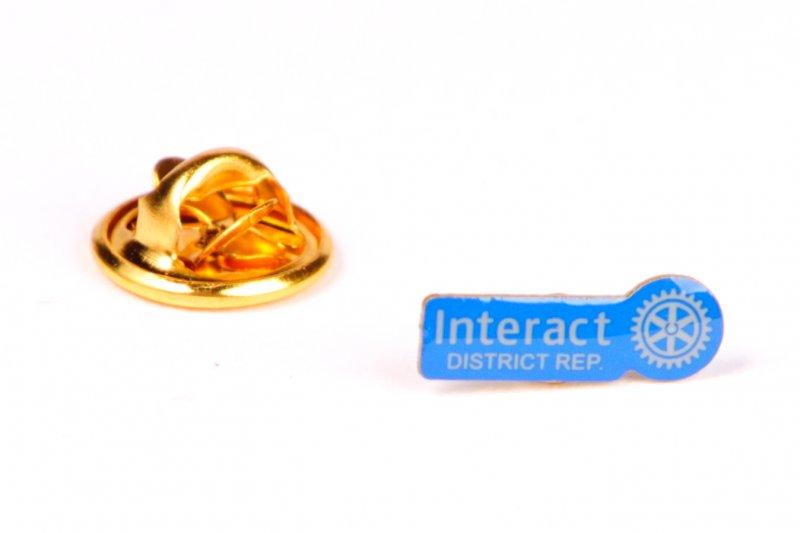 Interact Pin Distriktsprecher -neues Logo-