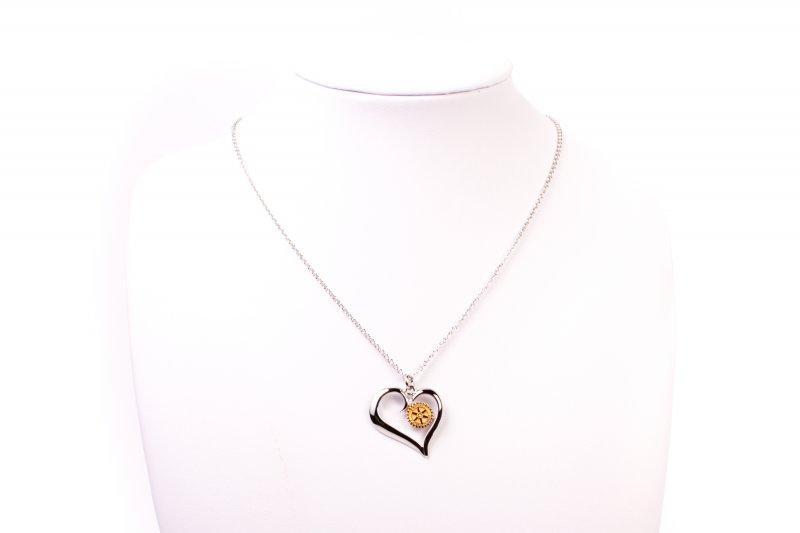 Rotary Halskette -Herz-