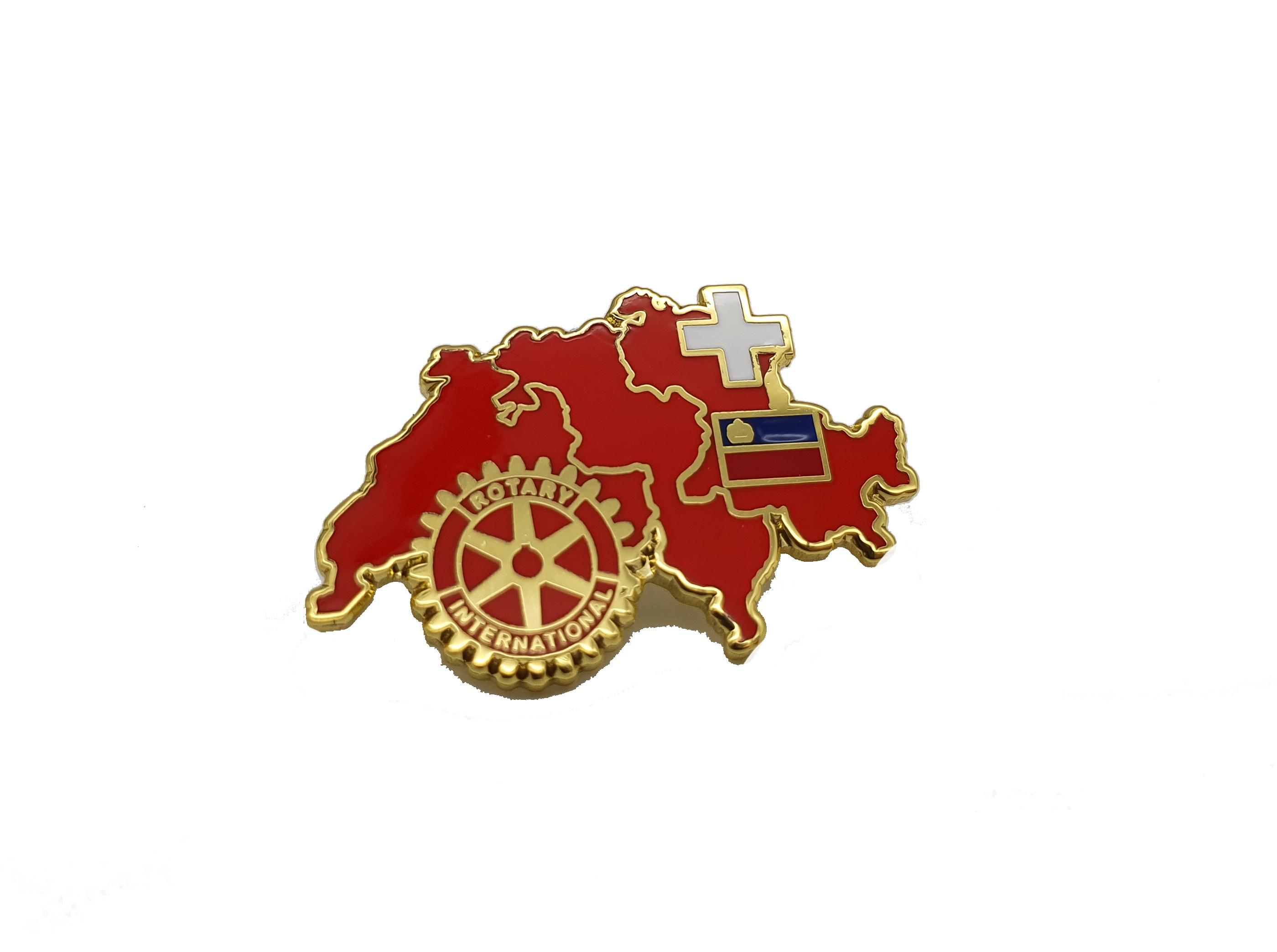 Rotary Schweiz & Lichtenstein Pin