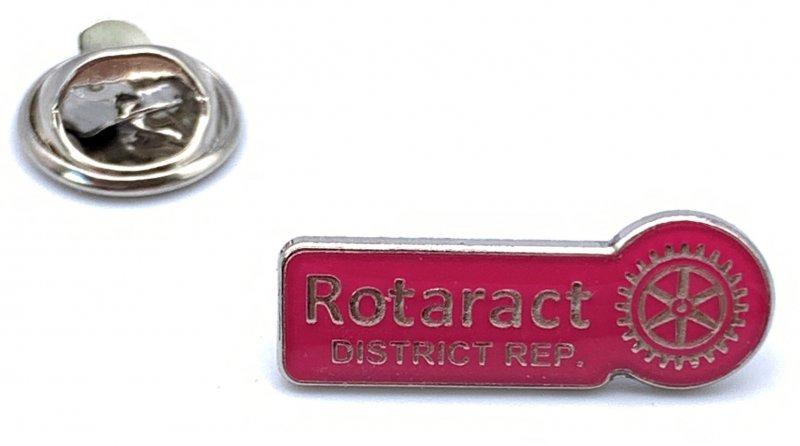 Rotaract Pin -Distriktsprecher- 9mm