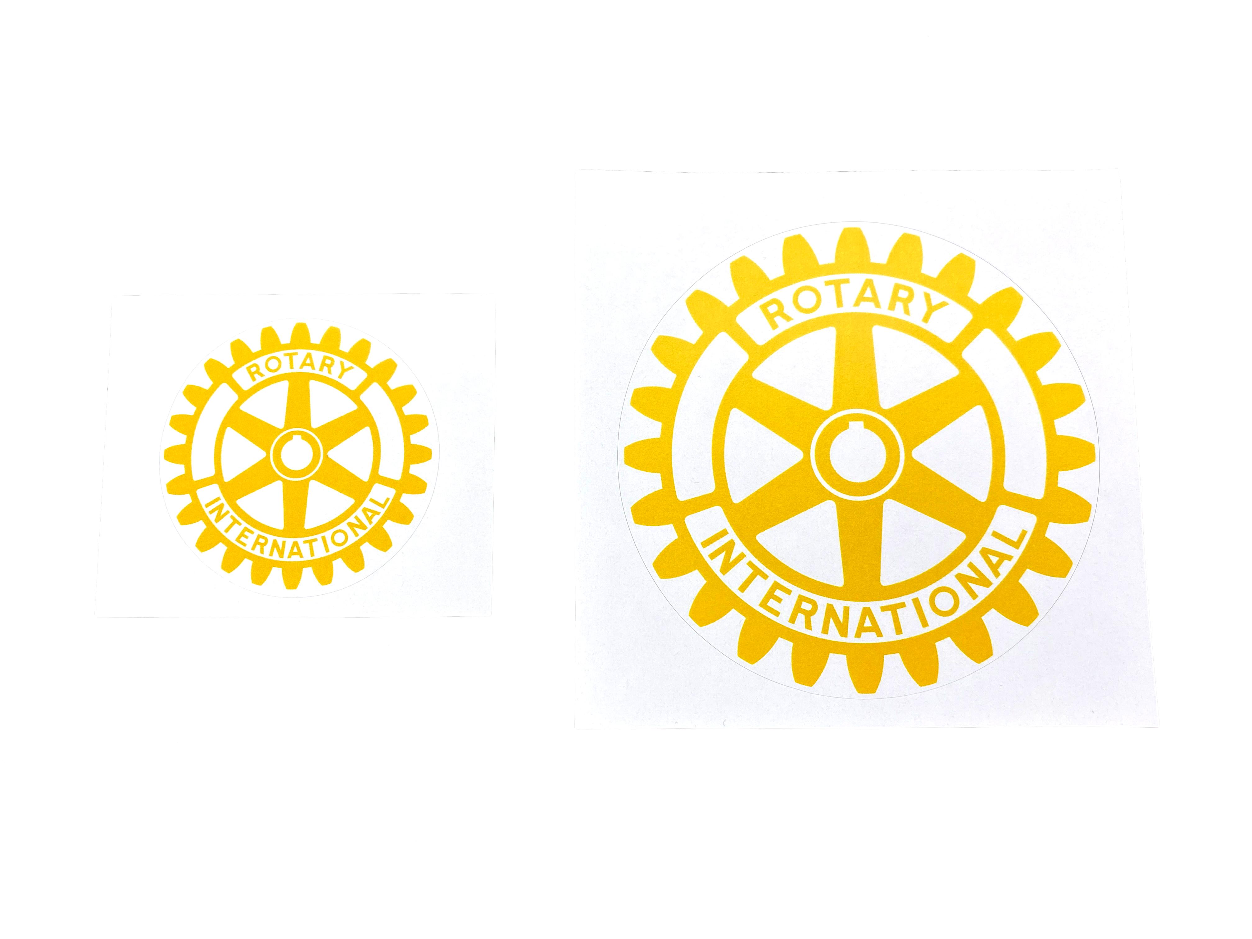 Rotary Aufkleber 50mm / 85mm