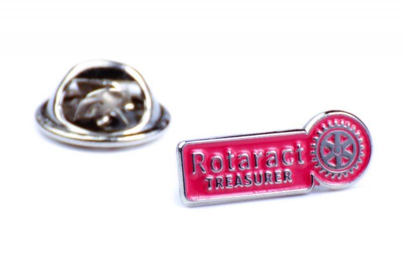 Rotaract Pin -Schatzmeister- 6mm
