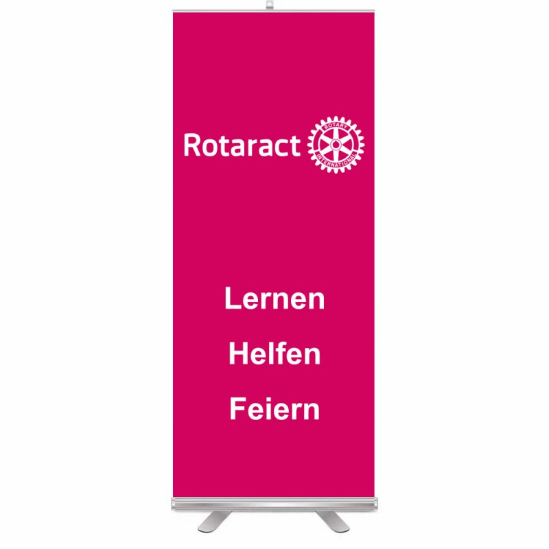 Rotaract Roll-Up Aufsteller (Display)