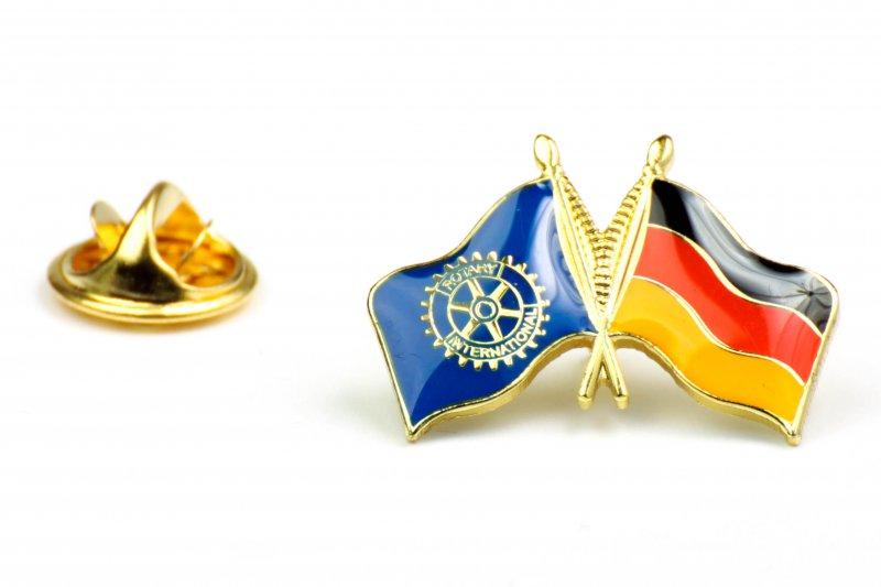 Länderpin Deutschland Rotary