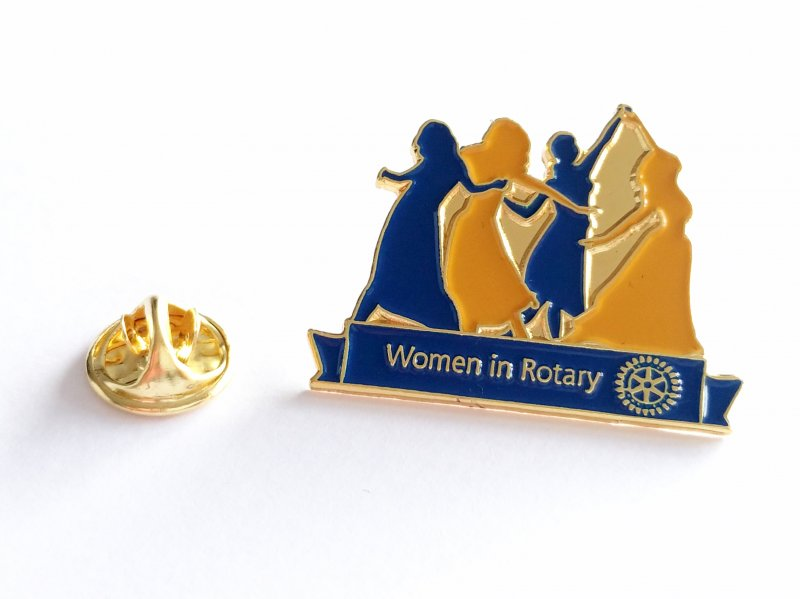 "Anstecker ""Women in Rotary"""